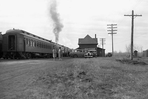 Camrose depot 1920s