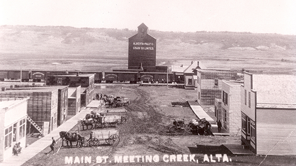 Meeting Creek main str 1915 web