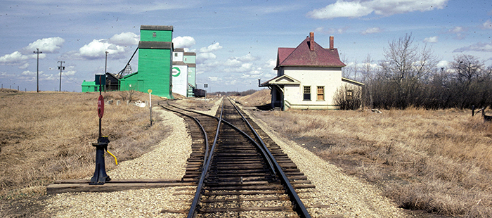 Red Willow, Alberta, 1980. ©photo Charles W. Bohi
