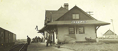 Stettler, c 1912. Photo©CNoS Archives