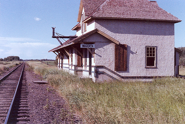 The second depot at Warden in its later years – 1979.